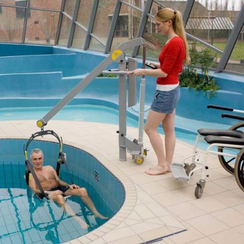 Grua de piscina segunda mano for Tobogan piscina segunda mano