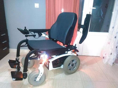 Silla de ruedas el ctrica forest 3 de segunda mano - Silla de ruedas para bano segunda mano ...